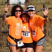 SDSC You'll Never Walk Alone 5k in Memory of Karina Fares - San Diego, CA - On_the_trail_copy.jpg