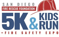 2019 San Diego Fire Rescue Foundation 5K & Kids Run - San Diego, CA - SDFRF-5K_Logo_v4.jpg