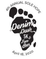 Sole Hope Denim Dash 5K, 1/2 Mile Fun Run and VIRTUAL 5K - Salisbury, NC - race55793-logo.bEe8cc.png