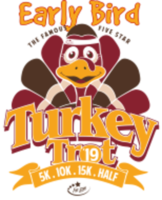 Early Bird Turkey Trot 5K, 10K, 15K, & Half Marathon 2019 - Kennesaw, GA - race61126-logo.bCKL4g.png