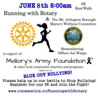 RUNNING WITH ROTARY & MT. ARLINGTON BOROUGH MAYORS WELLNESS COMMITTEE IN SUPPORT OF MALLORY'S ARMY FOUNDATION & OTHER LOCAL CHARITIES AND PROGRAMS - Mount Arlington, NJ - race55304-logo.bCyzWB.png