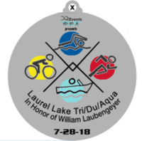 Laurel Lake Triathlon/Duathlon/Aquabike in honor of William Laubengeyer at Millville NJ *# - Millville, NJ - race26410-logo.bA52fu.png