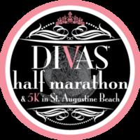 Divas Half Marathon & 5K in St. Augustine Beach - St. Augustine Beach, FL - Diva_s-Half-Marathon-St-Aug-5k-Logo.png