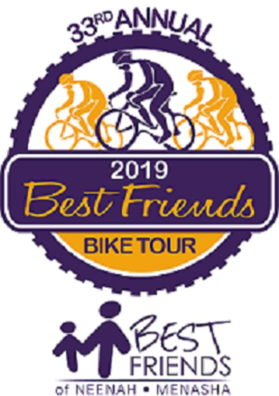 33rd annual best friends bike tour - neenah  wi