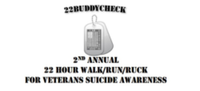 22BuddyCheck 2nd Annual 22 Hour Walk/Run/Ruck for Veterans Suicide Awareness - Derby, KS - race60980-logo.bA3ulh.png