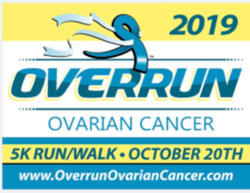 The Overrun Ovarian Cancer 5k Run Walk And 1 Mile Teal Trail Walk Overland Park Ks 1 Mile 5k Walking Running