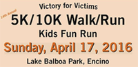 13th Annual Victory for Victims 5K/10K Walk/Run - Encino, CA - victory.png