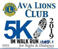 Ava Lion's Club 10th Annual 5K 1M Walk/Run - Ava, MO - Top_of_5K_Run_Flyer.png