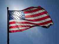 Red, White and Blue 10k, Half Marathon and Marathon - Huntington Beach, CA - US_Flag_Backlit.jpg