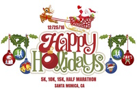 Happy Holidays 5k, 10k, 15k, Half Marathon - Santa Monica, CA - happy_holidays_advert_copy.jpg