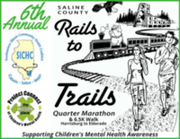 Saline County Rails to Trails Quarter Marathon - Eldorado, IL - race58844-logo.bANU45.png