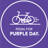 Pedal for Purple Day - Glendale, CA - PFPD-Logo-White-Medium.png