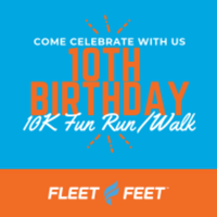 Fleet Feet Augusta's 10th Birthday 10K Fun Run/Walk - Augusta, GA - race77905-logo.bDfSYx.png