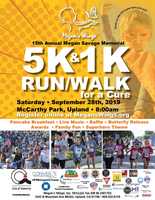 15th Annual Megan Savage Memorial Run for a Cure 5K - Upland, CA - Megans_Run_Flyer.jpg