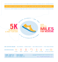 UCR Health Miles for Medicine 5K & Kids Fun Run  2nd Annual Event  - Riverside, CA - UCR_5K_RUN_Walk_Flyer.png