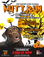 7th Annual Halloween Mutt Run 5K Run/Walk - San Diego, CA - MRFlyerFinal.jpg