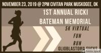 "1st Annual ""Glioblastoma Sucks"",  Ricki Bateman Memorial Fun Run - Muskogee, OK - race78617-logo.bDr5p7.png"
