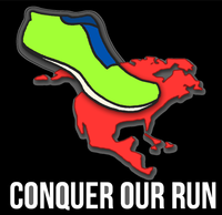Conquer Our Run 5K, 10K  Turkey Quest - Hermosa Beach - Hermosa Beach, CA - Conquer_Our_Run_Black_Logo.png