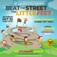 Beat the Street for Little Feet! Friends Nursery School's Fall Fun Run - Palo Alto, CA - race39173-logo.bx5eR9.png