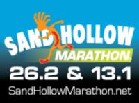 Sand Hollow Marathon & Half Marathon - Hurricane, UT - sand_hollow_marathon_logo_with_distance.png