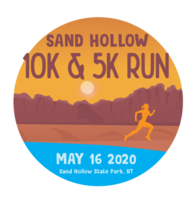 Sand Hollow 10K & 5K Run - Hurricane, UT - SH_Run_Logo_2020.png