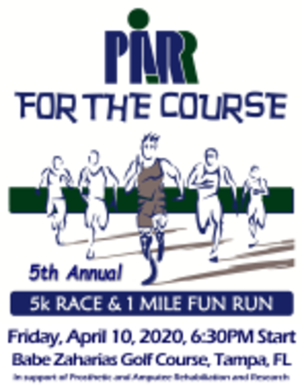 5th Annual PARR for the Course 5K Run