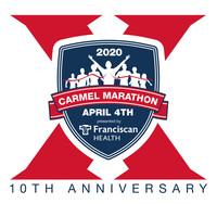 10th Annual Carmel Marathon Weekend - Carmel, IN - 2020_Carmel_Marathon_logo_10th_Anniversary.jpg