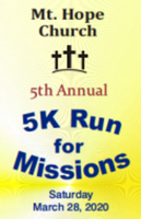 Mt. Hope Church 5K Run for Missions - Salisbury, NC - race29577-logo.bEcHrT.png