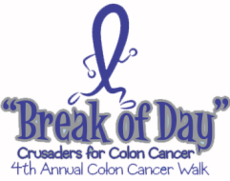7th Annual Break Of Day Colon Cancer Awareness 5k Walk Houston Tx 5k Running