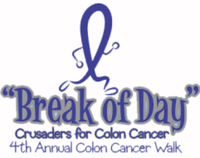 "7th Annual ""Break of Day"" Colon Cancer Awareness 5K Walk - Houston, TX - race86748-logo.bEpelZ.png"