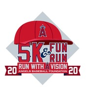 Angels 5K & Fun Run - Anaheim, CA - 2020_5K_Medal_and_Logo.jpg