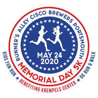 Runner's Alley Cisco Brewers Portsmouth Memorial Day 5K - Portsmouth, NH - Krempels_5K_Road_Race_2020_FINAL_LOGO.jpg