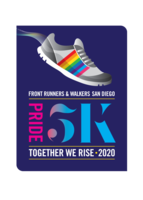 San Diego 2020 Virtual Pride 5K Run/Walk - San Diego, CA - AV-1002-Pride_Run_2020-Block-Logo-FINAL.png