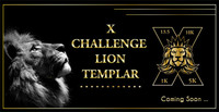 "X Challenge Lion Templar ""X""Medal ( Special Edition) 13.1M/10k/5k/1k Remote-Race - Twins Falls, ID - 258f1411-039d-4f77-a961-e2cb212fbaf5.jpg"