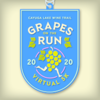 Grapes on the Run - A  Cayuga Lake Wine Trail Virtual 5k - Romulus, NY - race93318-logo.bFdEgm.png