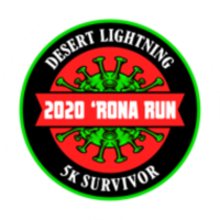 Desert Lightning 2020 'Rona Run - Virtual 5k Walk/Run - Tucson, AZ - race95885-logo.bFirqc.png