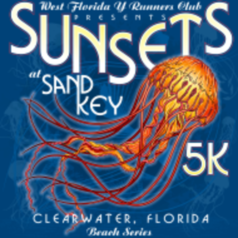 Sunsets At Sand Key Beach Series Clearwater Beach Fl 5k Running