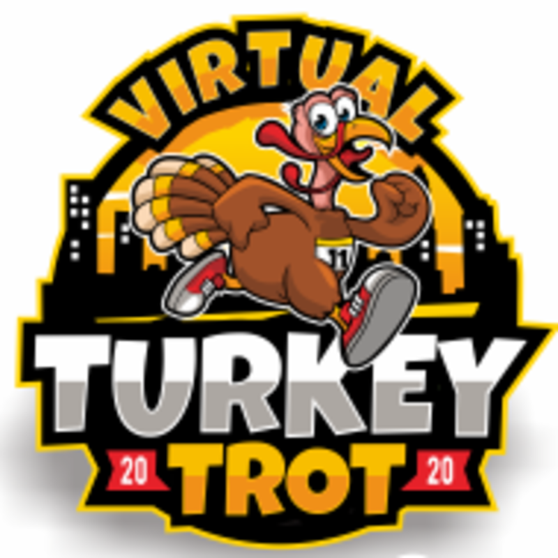 Virtual Turkey Trot - Charlotte, NC - 1 mile - 10k - 5k - Running