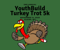 2nd Annual YouthBuild Turkey Trot 5k - Elkins, WV - Round_Turkey_Trot.png