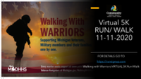 """Walking with Warriors"" VIRTUAL 5K Run/Walk - Lansing, MI - race98524-logo.bFwez0.png"