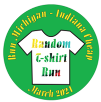 March Random T-Shirt Run - Run Michigan/Indiana Cheap - Any City, Any State, MI - race103643-logo.bFXblO.png