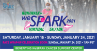 Virtual Run/Walk for WeSPARK 5k/10k - Anyplace, CA - weSPARK_Run_Walk_Invite_Constant_Contact_2021.png