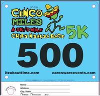 Cinco De Miles 5K & 5miles - Huntington Beach, CA - bib_sample.JPG
