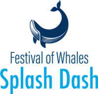 Festival of Whales Splash Dash - Dana Point, CA - DPCC_SPLASH_DASH_WHALE-VERTICAL.png