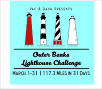 Vac & Dash OBX Lighthouse Virtual Challenge  - 117.3-Miles in 31-Days - Albemarle, NC - race106812-logo.bGkfe0.png
