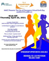 Inglewood Airport Area Chamber of Commerce presents the City of Champions Earth Day 5k walk/run. - Inglewood, CA - IAACC_5K_WalK___Run_Flyer_.jpg