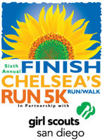 Finish Chelsea's Run 5K Run/Walk - San Diego, CA - 2016-FCR-logo.jpeg