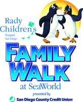 9th Annual SeaWorld Shamu & You Family Walk for Rady Children's Hospital 1 Mile and 4 Mile Walks  - San Diego, CA - Rady_Family_Walk_Logo_with_SDCCU.jpg