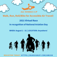 All Wheels Up Virtual Walk, Run, Roll/Bike for Accessible Air Travel - Great River, NY - race110859-logo.bGLd3H.png